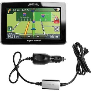 Magellan RoadMate 1445T 4.3-Inch Widescreen GPS Navigator with Traffic Link Receiver