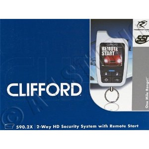 Clifford 590.2x 2-way Security w/ Remote Start