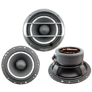 Lanzar - VB26; Vibe 500 Watts 6.5'' 2 Way Coaxial Speakers