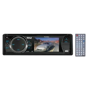 PYLE PLD32MU 3'' TFT/LCD Display In Dash DVD/VCD/MP3/CDR/USB/MP4 Player & AM/FM Receiver