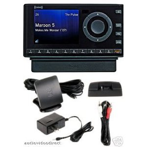 XM XDNX1V1 Onyx Dock-and-Play Radio with Car Kit (Black) + Home Kit Bundle