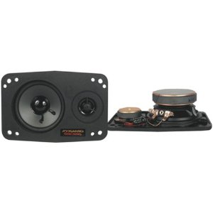 Pyramid 446 4-Inch x 6-Inch 160-Watts 2-Way Speakers