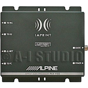 Alpine PXA-H100 - Audio signal processor