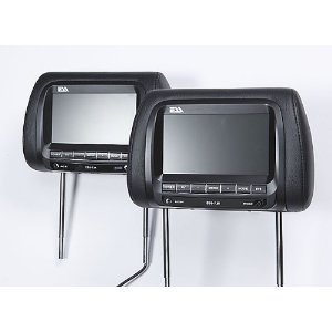 ESS Headrest Video Package Two replacement headrests with built-in 7
