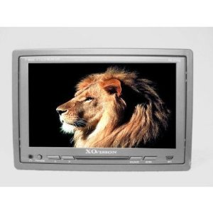 XOVision XO27705 7-Inch TFT-LCD Wide Screen Headrest Monitor with Built-in IR /for Headphones and USB Input