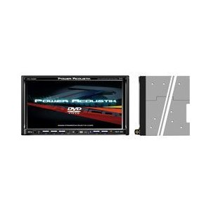 Power Acoustik PTID-7350NR Exact Double Din 6.95-Inch AM/FM Receiver and Touchscreen