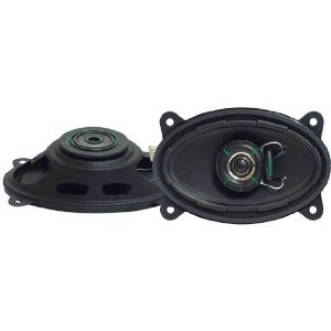 Lanzar VX460S VX 4-Inch x 6-Inch Two-Way Slim Mount Speakers