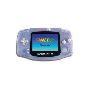 Game Boy Advance Console Glacier Color