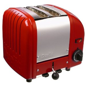 Dualit 2-Slice Toaster, Red