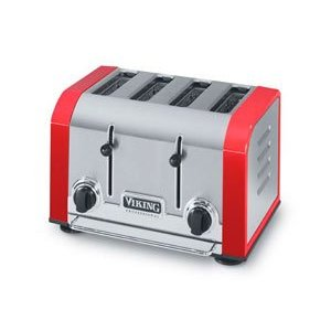 Viking VT401BR Professional Bright Red Toaster 4-slice