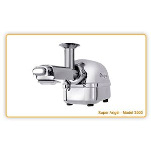 Super Angel 5500 Stainless Steel Living Juice Extractor Machine - Super Heavy Duty Juicer: Juices Fruits, Vegetables, Leafy Greens, Wheatgrass