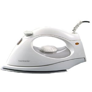 Toastmaster 3305 Steam and Dry Iron with Polished-Aluminum Soleplate