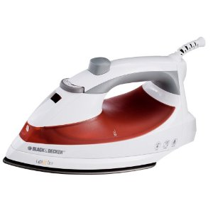 Black & Decker F920 Light 'N Easy Iron, White
