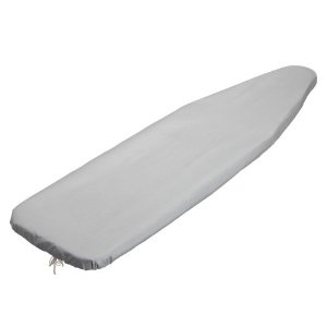 Honey-Can-Do IBC-01341 Silicone Coated Ironing Board Cover, Silver