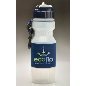 Portable Water Filter Bottle Flip TOP - 26oz