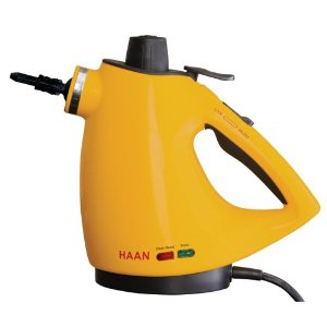 Haan HS-20 Deluxe Personal Sanitizing Handheld Steam Cleaner with Attachments