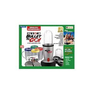 Magic Bullet to Go - 21 Pc. Set Limited Edition
