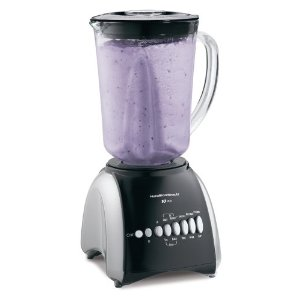 Hamilton Beach 50239 Stay or Go 10-Speed Blender, Black