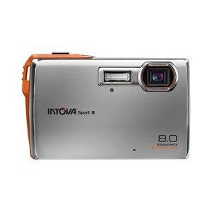 INTOVA Sport 8 - Digital camera - compact - 8.0 Mpix - optical zoom: 3 x - supported memory: SD, SDHC
