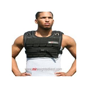 MiR 40Lbs Short Adjustable Weighted Vest