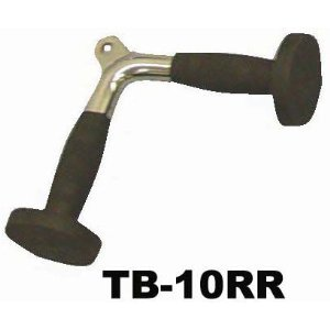 Tricep Press Down V Bar Attachment with rubber grips