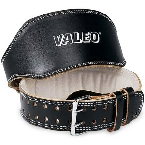 Valeo 4-Inch Padded Leather Belt