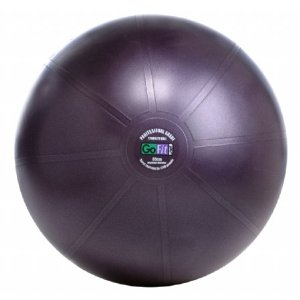 GoFit Ultimate Burst Resistant Core Stability Ball with Workout DVD (65 cm)