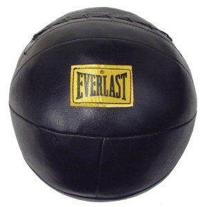 Everlast 6502 Leather Medicine Ball (8-9 lbs.)