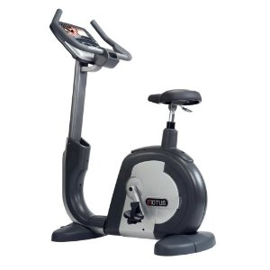 Motus USA M660BUL Upright Exercise Bike with Fully Integrated Samsung LCD TV