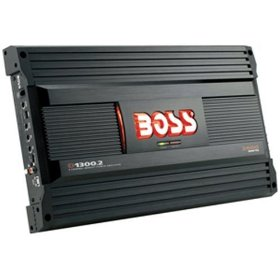 Boss Audio D1300.2 Diablo 2-Channel Mosfet Bridgeable Power Amplifier