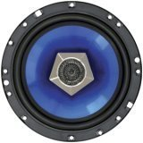 Boss Audio Blade BL6240 6.5-Inch 2-Way Slim Metallic Poly-Injection Cone Speaker