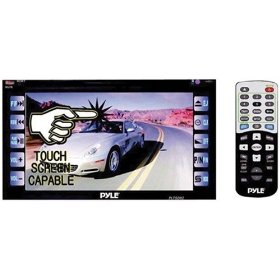Pyle PLTSD62 6.5-Inch Double Din Touchscreen LCD Monitor