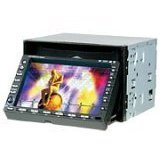 Valor DDA-650W 6.5-inch Double Din Size Fully Motorized IN-Dash Monitor w/DVD