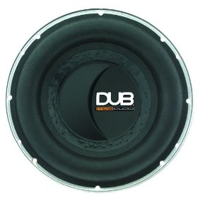 AudioBahn DUB MAG Audio DUB1000 - Die-Cast Aluminium car subwoofer driver - 600 Watt - 10