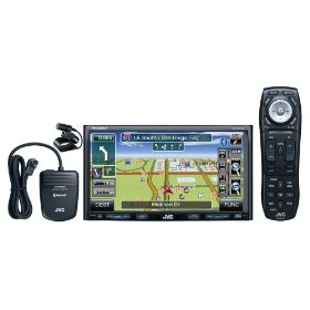 JVC KW-NX7000BT Double-DIN Navigation Receiver with 7-Inch Widescreen Detachable Touch-Panel Monitor, DVD/CD/USB/SD Card, iPod USB 2.0 with Bluetooth Adapter