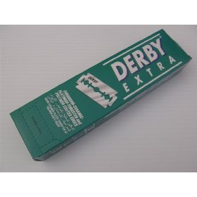 Derby Extra Double Edge Razor Blades Stainless Steel