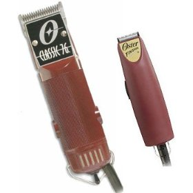 Oster Classic 76 Clipper W/2-blades Plus Finisher Narrow Bladetrimmer Combo