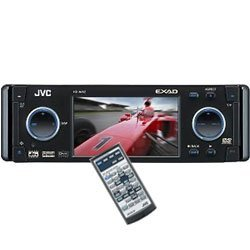 JVC KD-AVX2 - DVD player with LCD monitor and AM/FM tuner - EXAD