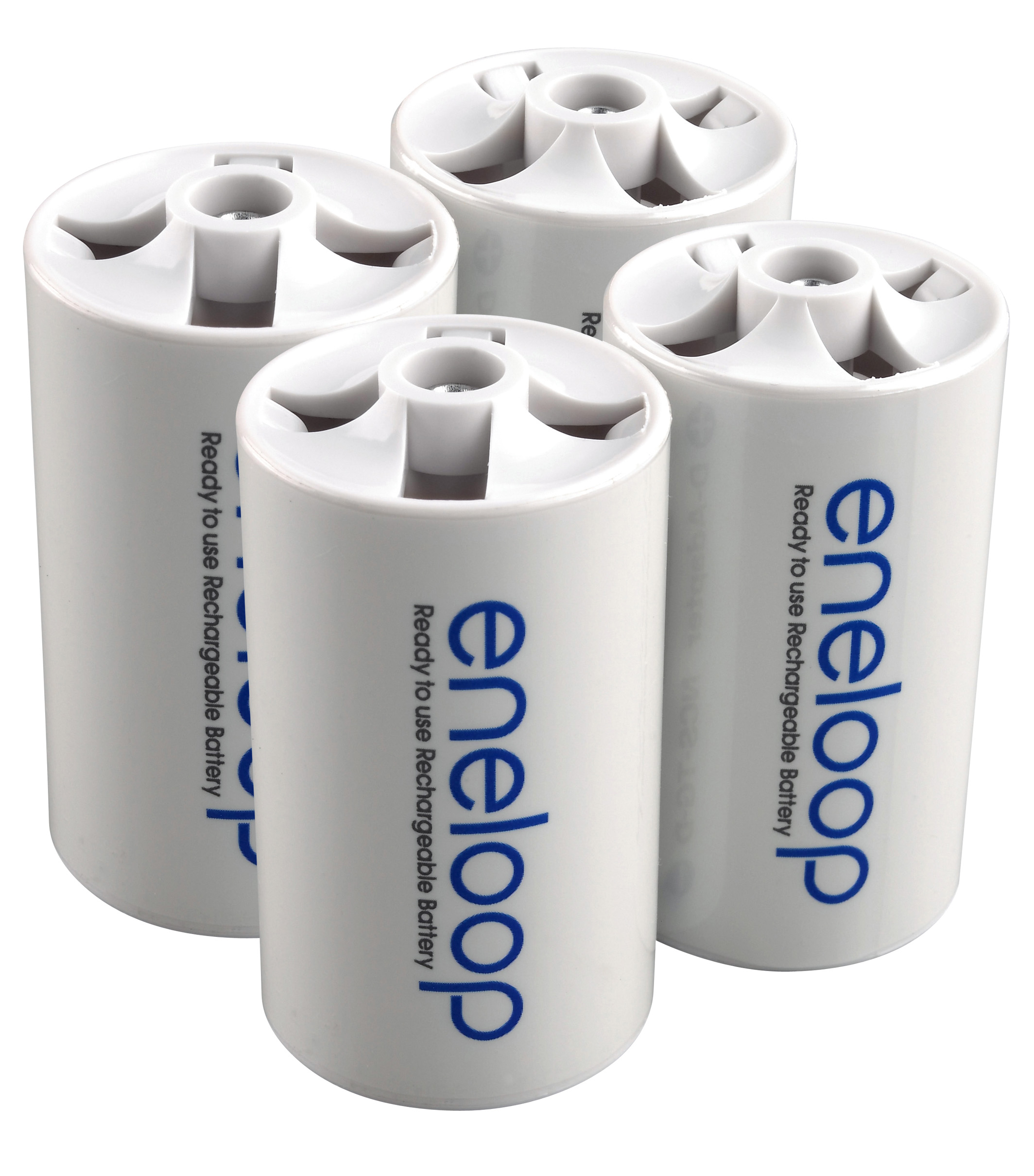 Eneloop d spacer 4pack ready to use rechargeable battery