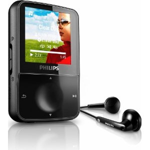 Philips GoGear 4 GB Vibe MP3 Video Player with 1.5-Inch Color Screen