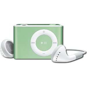 Apple iPod shuffle 1 GB Light Green, Clamshell Package (2nd Generation)