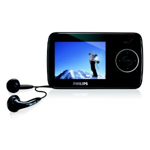 Philips SA33 4 GB Flash Video MP3 Player with 2.5-Inch Display (Black)