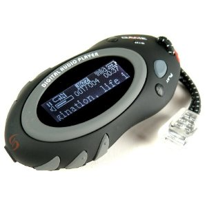 Sylvania 2 GB Sport Style MP3 Player with Rubber Finish