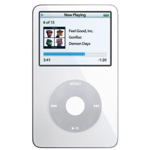 Apple 30 GB iPod Video AAC/MP3 Player White (5.5 Generation)