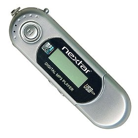 Nextar 512MB Digital MP3 Player - White