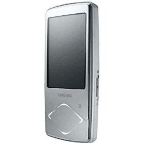 Samsung Q1 8 GB Video MP3 Player with Lighted Touchpad (Silver)
