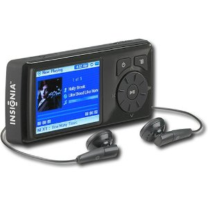 InsigniaTM NS-DV2G 2GB Video MP3 / Video Player W FM Tuner