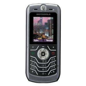 Motorola SLVR L6i Unlocked Phone with Quad-Band, Camera, SpeakerPhone, MP3, FM Radio and Bluetooth - International Version with Warranty (Dark Gray)
