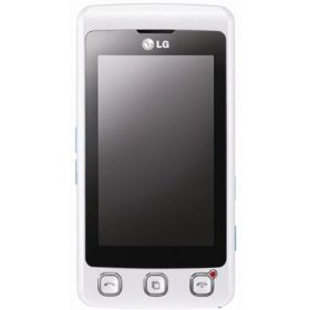 LG KP500 Cookie Unlocked Phone with 3.15 MP Camera, Video, Touch Screen, Handwriting Recognition, FM Radio, and Document Viewer--International Version with No Warranty (White)