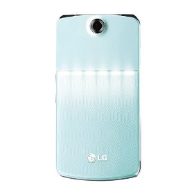 LG KF350 Unlocked GSM Tri-Band Cell Phone with 3MP camera, FM Radio, MP3 Player, and Bluetooth--International Version with No Warranty (Blue)